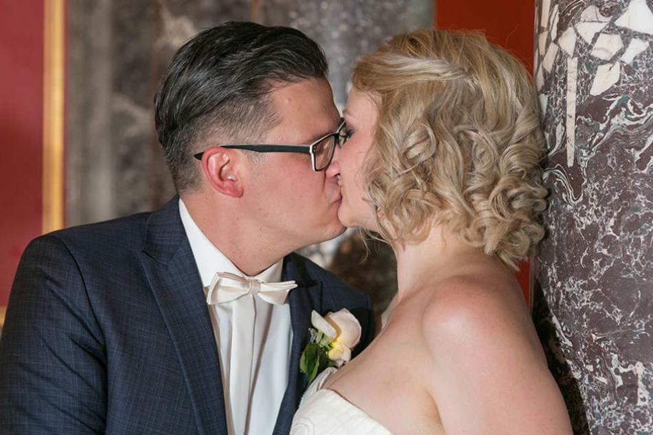Nadja Herrig (32) und Jens Niehoff (35) gaben sich das Ja-Wort - für lau.