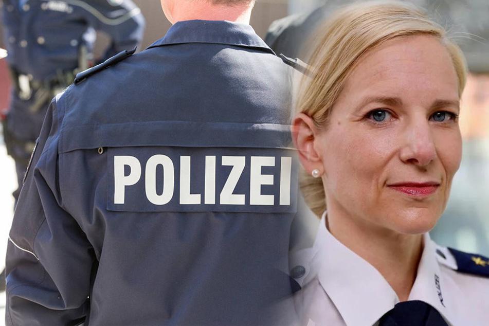 Sie ist die neue Polizeichefin von Chemnitz