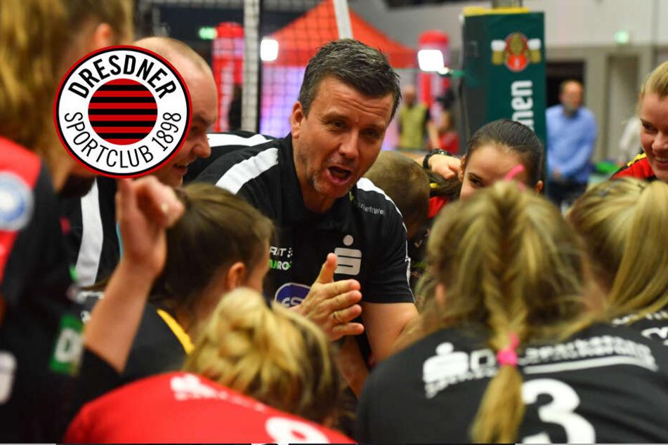 Dresdner SC: Waibl setzt jetzt auf Rotation!