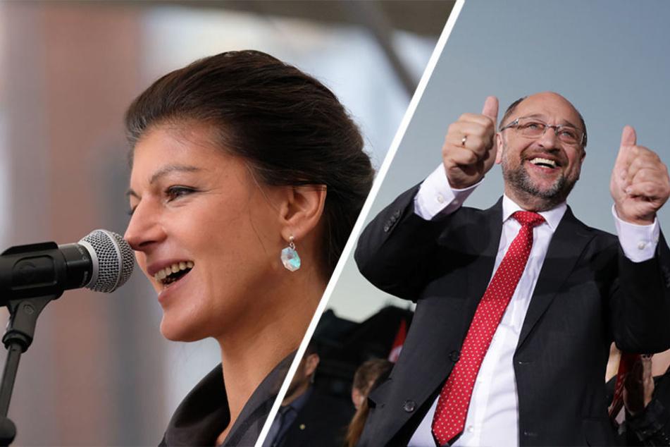 In Berlin gehen am Samstag unter anderem die Linke und die SPD auf Stimmenfang.