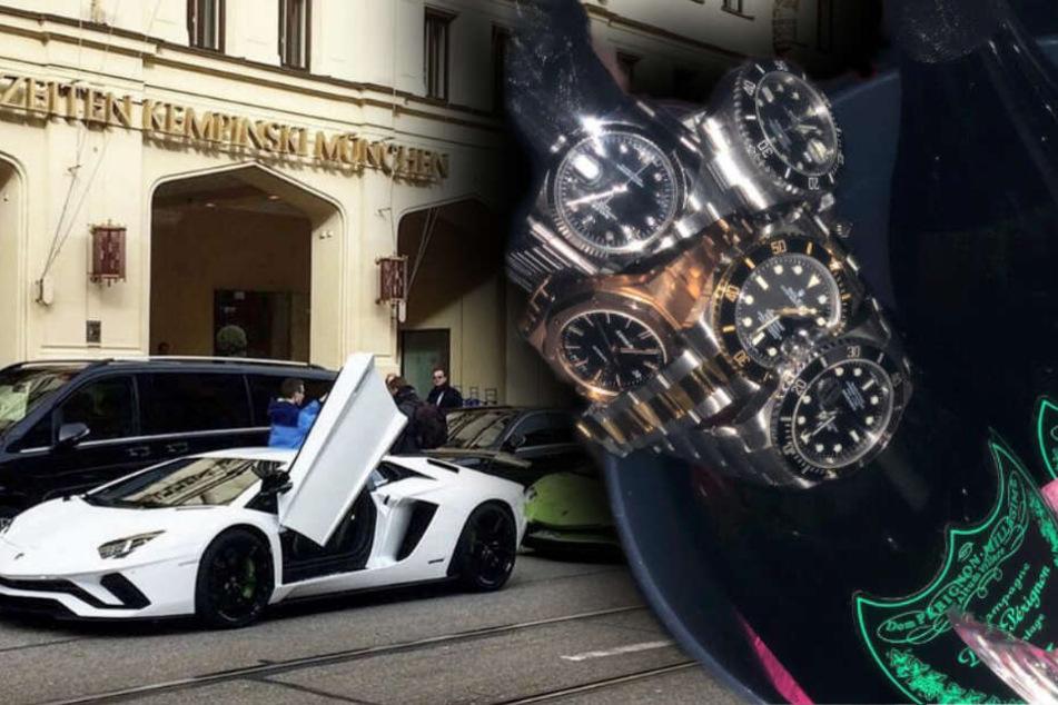 München: Schlitten, Schampus, fette Uhren: So verprassen Luxus-Kids ihr Geld