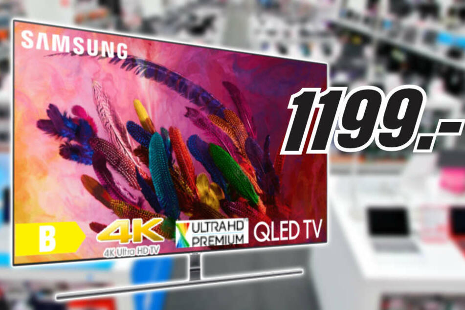 Bei MediaMarkt in Günthersdorf spart Ihr jetzt 33 Prozent auf diesen QLED-TV!