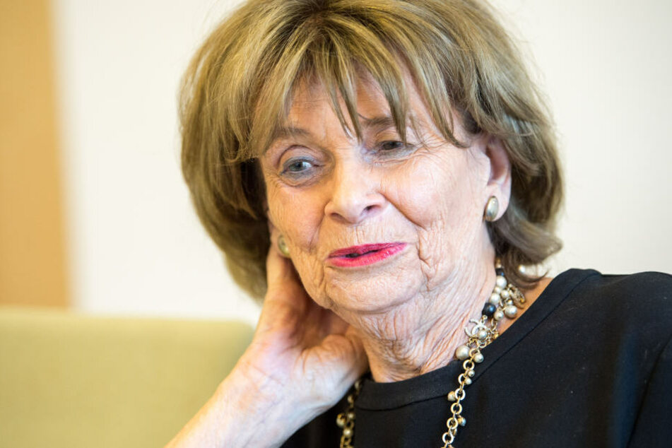Charlotte Knobloch (86) wünscht sich mehr Engagement gegen Antisemitismus.