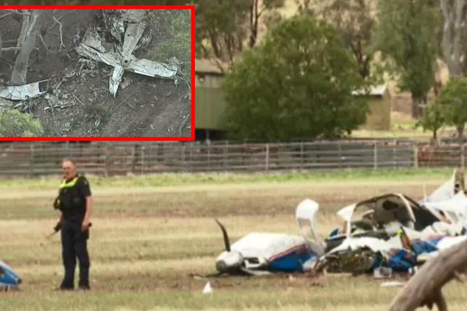 Tragödie in der Luft: Zwei Kleinflugzeuge kollidieren, vier Menschen sterben!