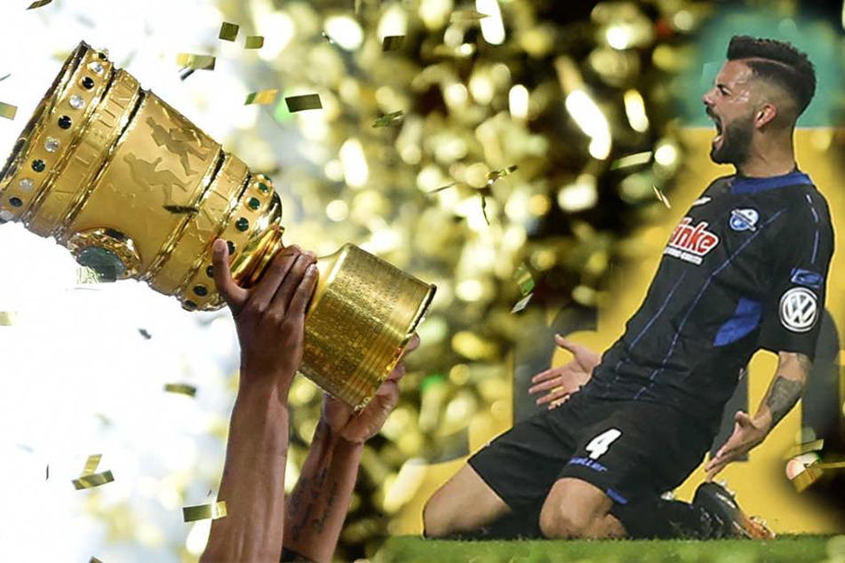 Massih Wassey (29) möchte erneut jubeln und mit dem SCP im DFB-Pokal eine Runde weiterkommen.