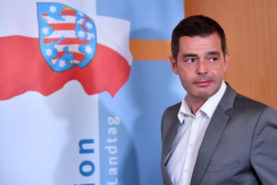 Mike Mohring wird im April auch den Landesvorsitz der CDU in Thüringen abgeben.