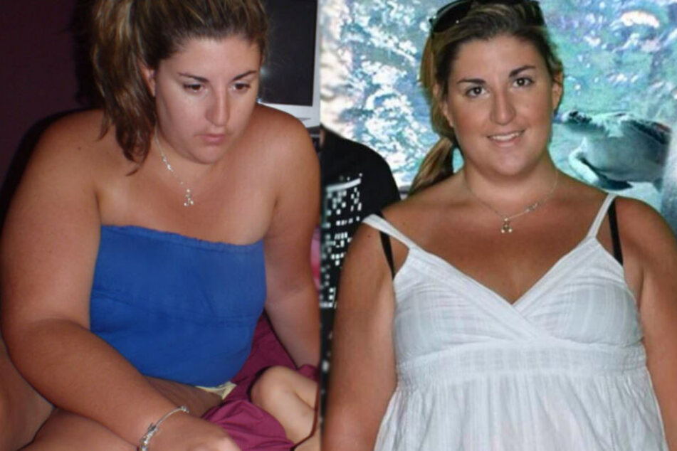 Kylie Mulcahy (30) vor ihrer Gewichtsabnahme.