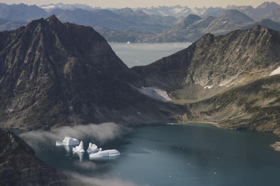Grönland besitzt nach der Antarktis die geringste Bevölkerungsdichte der Welt.