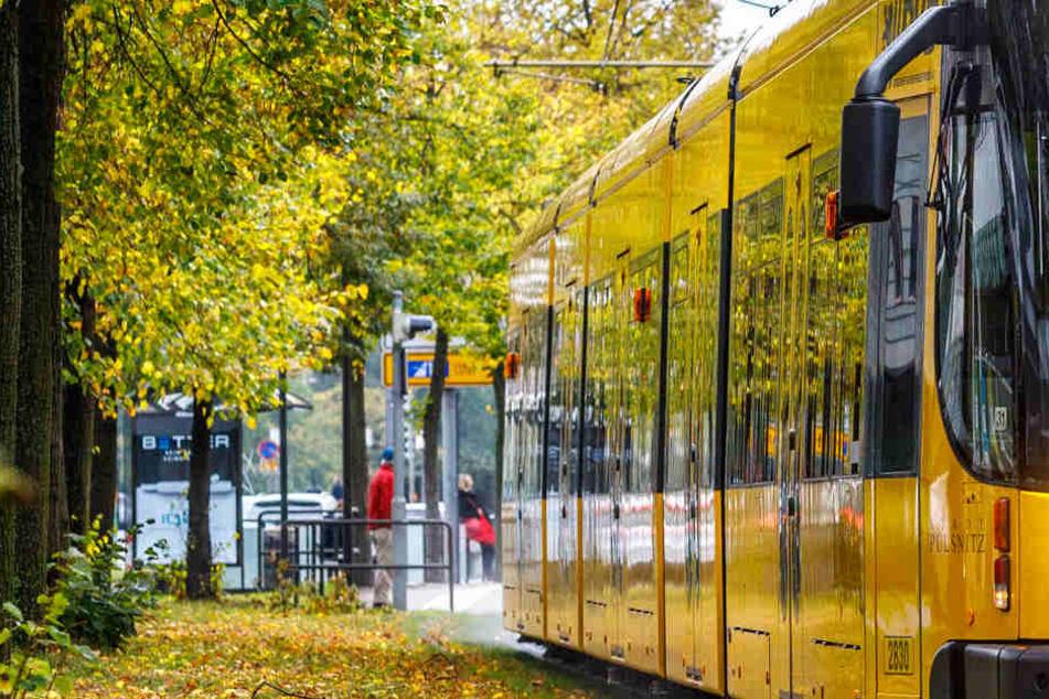 Ungepflegter Aufdringling belästigt Frau in Straßenbahn