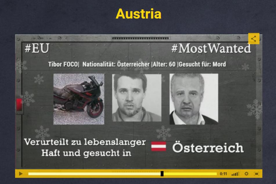 Im ersten Türchen steckt dieser Schwerverbrecher aus Österreich.