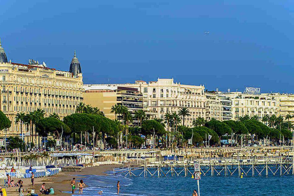 Cannes ist bei britischen Reisenden besonders beliebt.