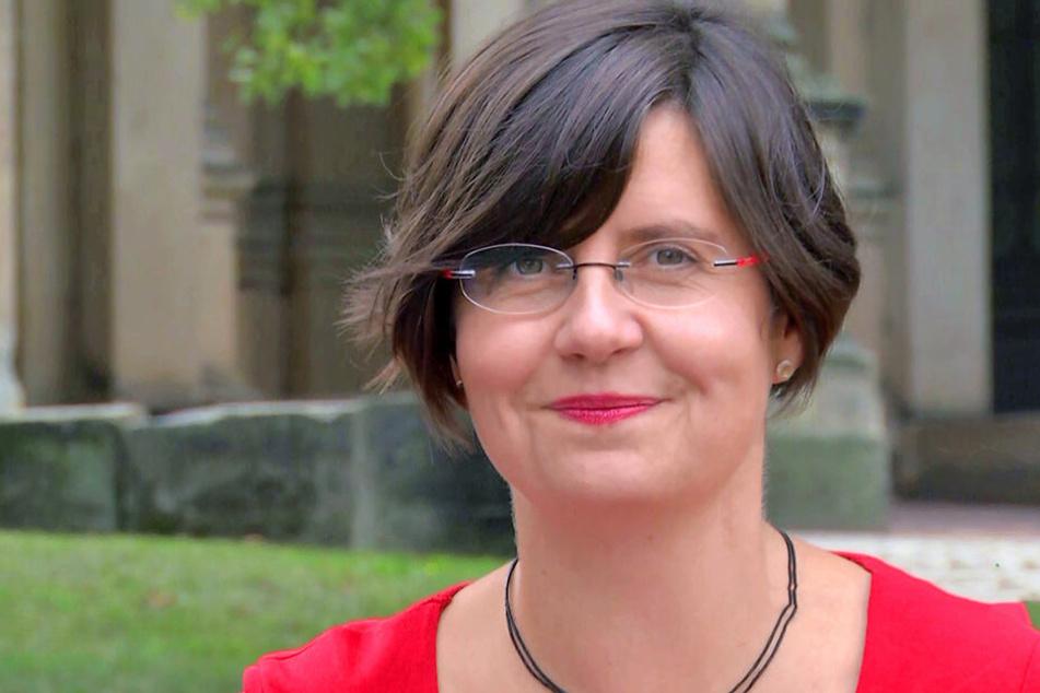 Will die Aktion in die Gemeinden tragen: Mira Körlin (42) von der Evangelischen Landeskirche.