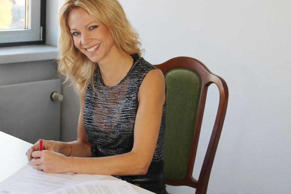 """Schauspielerin Birte Glang (38) wird die neue """"Lena""""."""