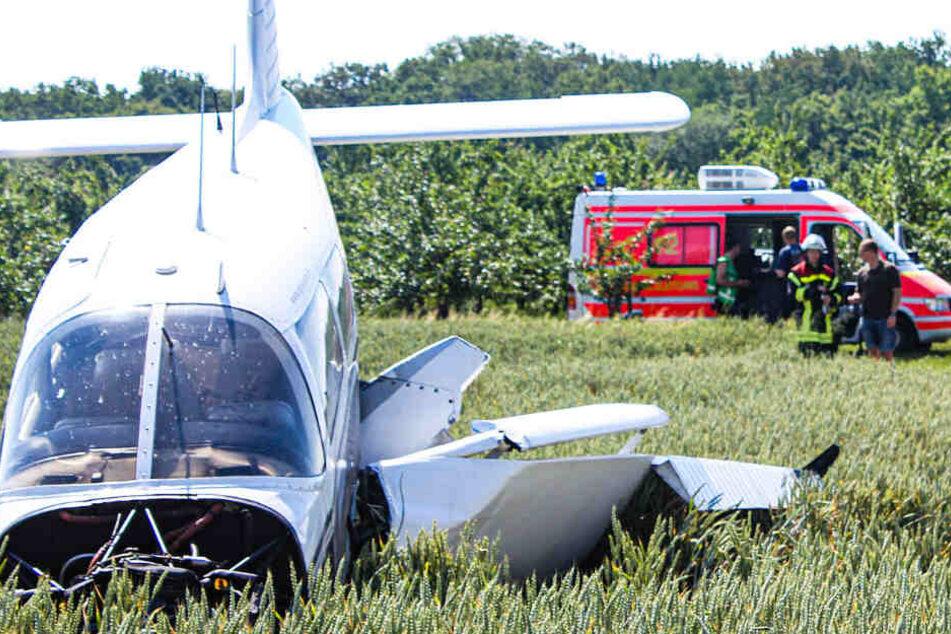 Das Unglück ereignete sich gegen 10 Uhr am Samstagmorgen.