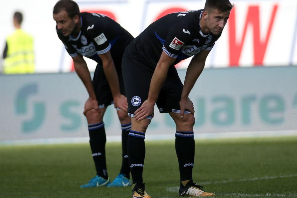 Bielefeld beendet Ausleihe von Angreifer Andraz Sporar