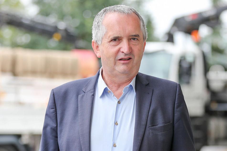 Ruft zum Wassersparen auf: Sachsens Umweltminister Thomas Schmidt (58, CDU).