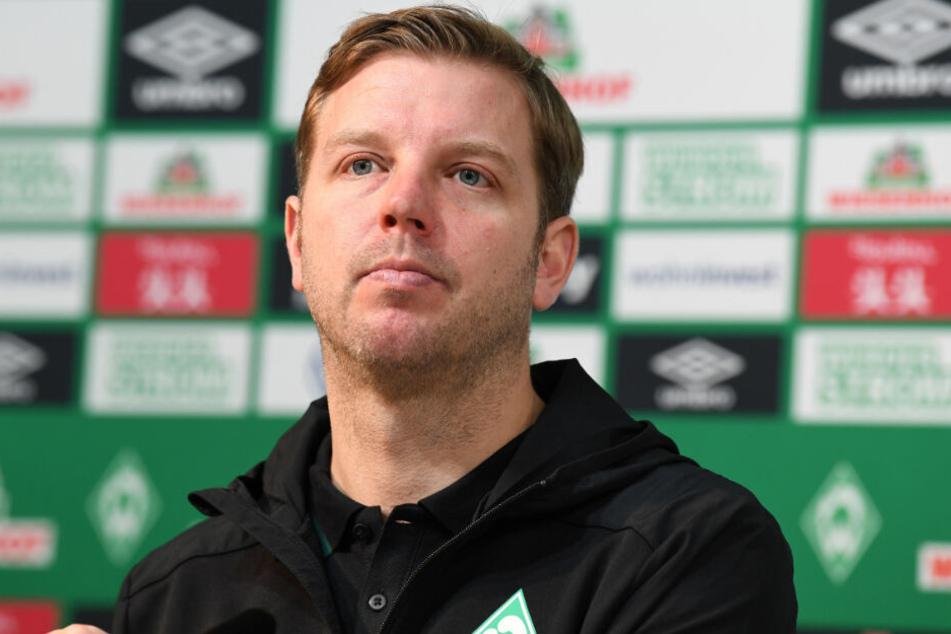 Platz 17 in der Bundesliga-Tabelle nach 21 Partien: Die wohl schwierigste Situation für Florian Kohfeldt in seiner noch jungen Trainerkarriere.
