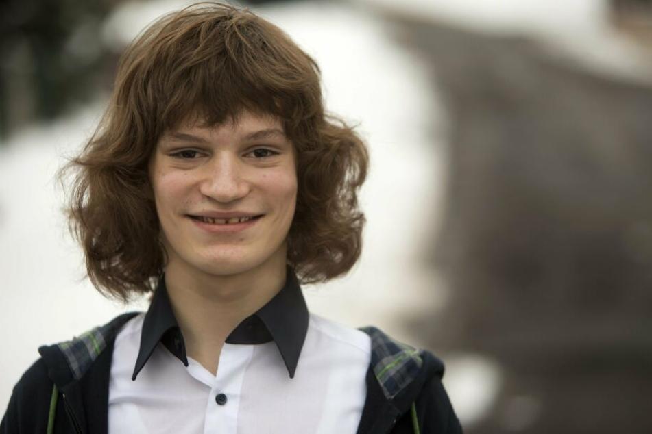 Fritz Wagner mit 14, in diesem Alter landete er seinen Thüringer-Klöße-Hit.