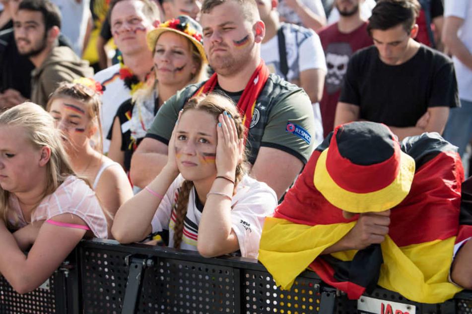 Lange Gesichter bei den Fans.