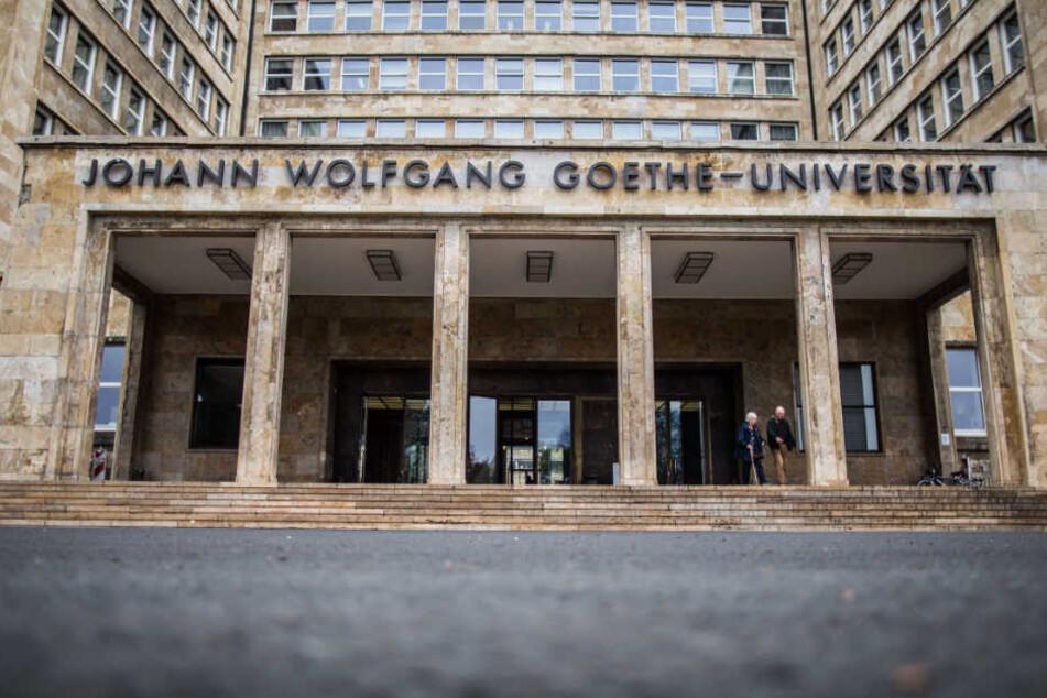 Teures Pflaster? Das Foto zeigt den Campus Westend der Johann Wolfgang Goethe-Universität in Frankfurt.