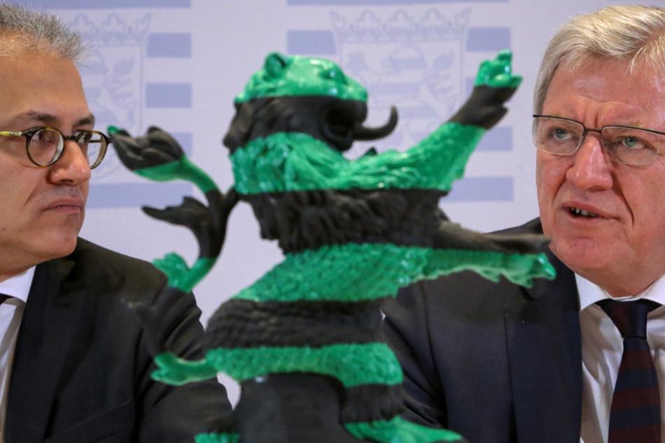 Mit knapper Mehrheit können die Grünen und die CDU die Koalition fortführen.