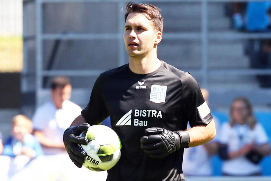Oliver Birnbaum, hier noch im Trikot des Chemnitzer FC, wurde von Schiebock freigestellt. (Archivbild)