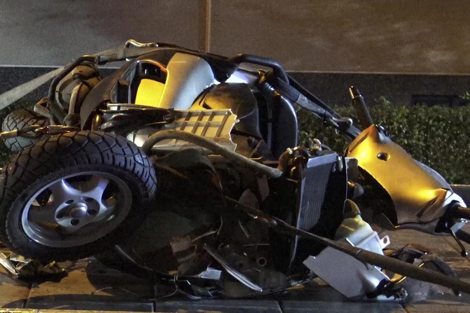 Am Dienstagabend ist ein 44-jähriger Rollerfahrer bei einem Unfall in Bonn-Holzlar schwer gestürzt.