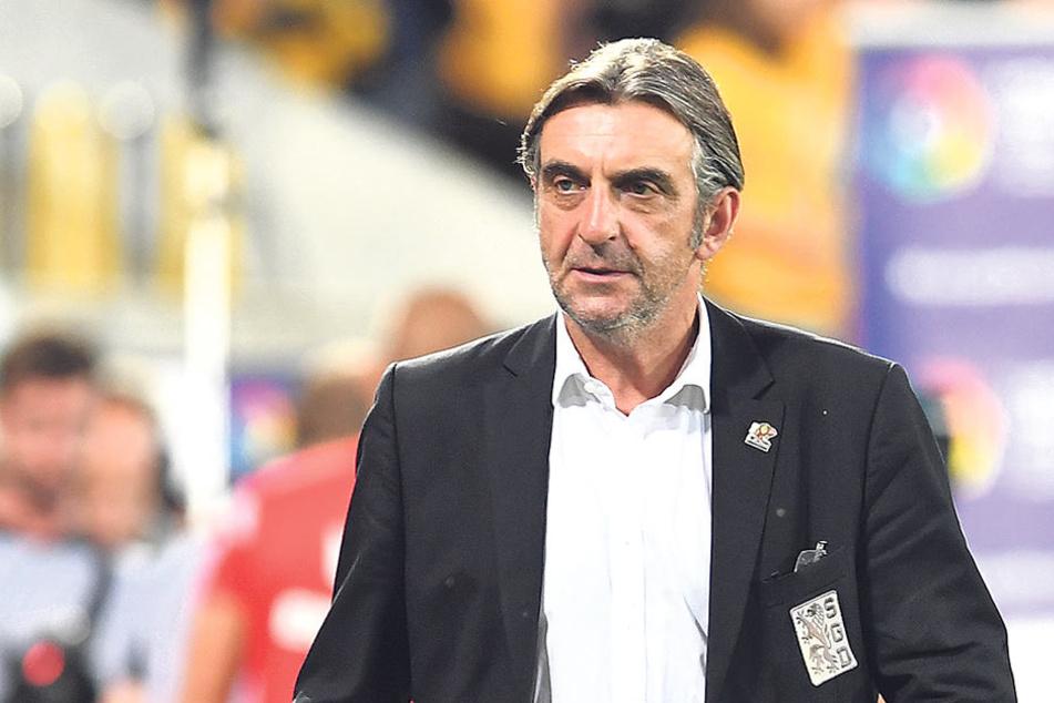 Dynamo-Sportdirektor Ralf Minge  fordert Aufklärung von DFB und RB in Sachen Geheim-Kommunikation.