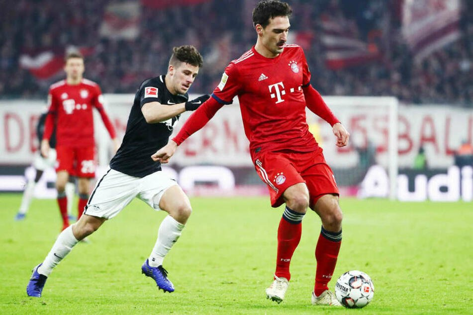 Beackern sich Diego Demme (l.) und Mats Hummels bereits im Halbfinale oder erst im möglichen Endspiel in Berlin?