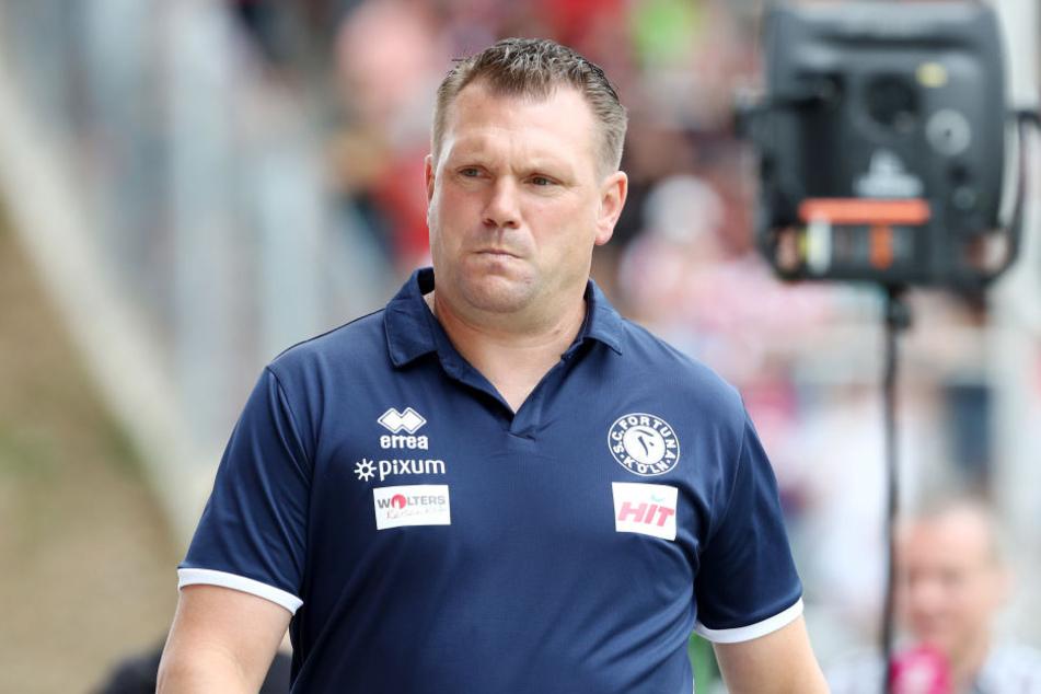 Uwe Koschinat soll am Montag beim SV Sandhausen als neuer Trainer präsentiert werden.