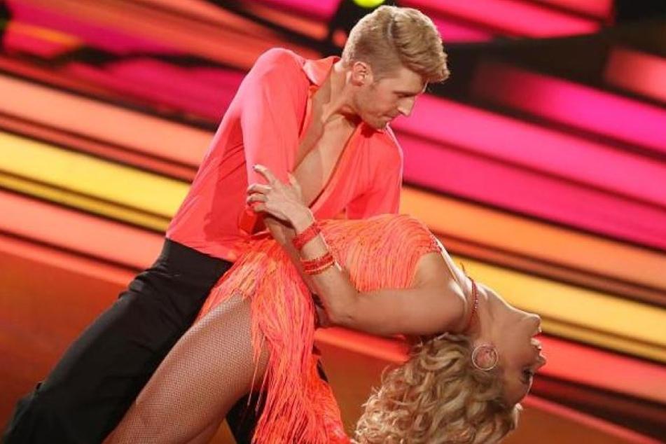 Isabel Edvardsson (34) und ihr Tanzpartner Maximilian Arland (36).