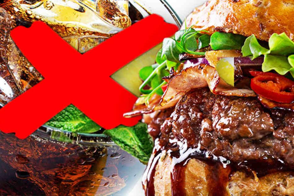 Deshalb solltet Ihr auf keinen Fall Cola zum Burger trinken!