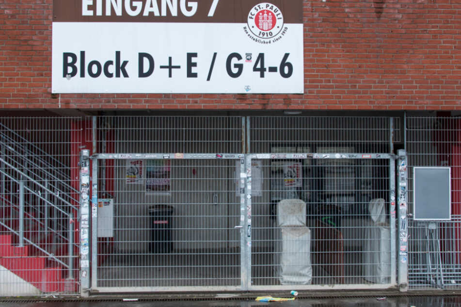 Die Tore am Millerntor bleiben am Sonntag wohl geschlossen.