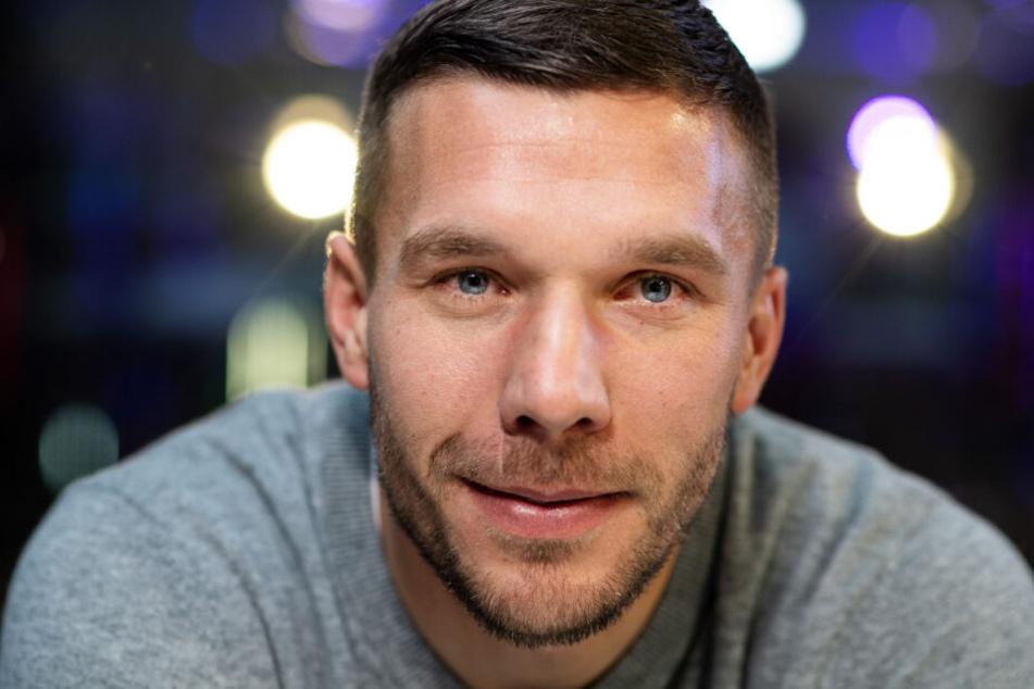 Der frühere Fußall-Nationalspieler Lukas Podolski.