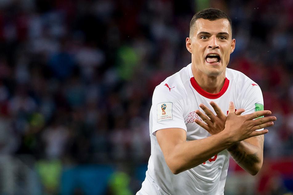 Schweiz bezwingt Serbien in letzer Minute und provoziert beim Jubeln