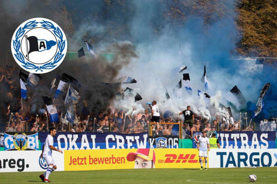 Pyro-Einsatz könnte Arminia Bielefeld teuer zu stehen kommen