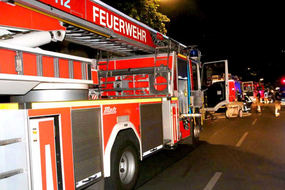 Die Feuerwehr war etwa zwei Stunden im Einsatz.