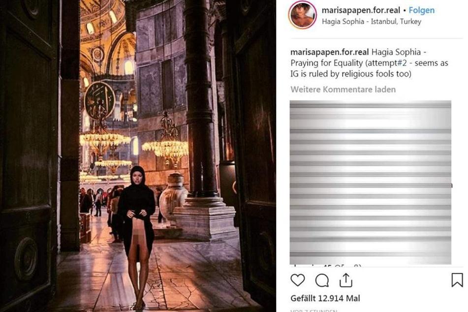 Marisa Papen (26) weiß mehr als nur zu provozieren.