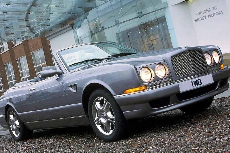 Am Bentley Cabrio entstand ein Sachschaden von 100.000 Euro (Symbolbild).