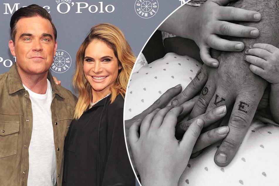 Baby-Überraschung bei Robbie Williams! Dabei war seine Frau gar nicht schwanger