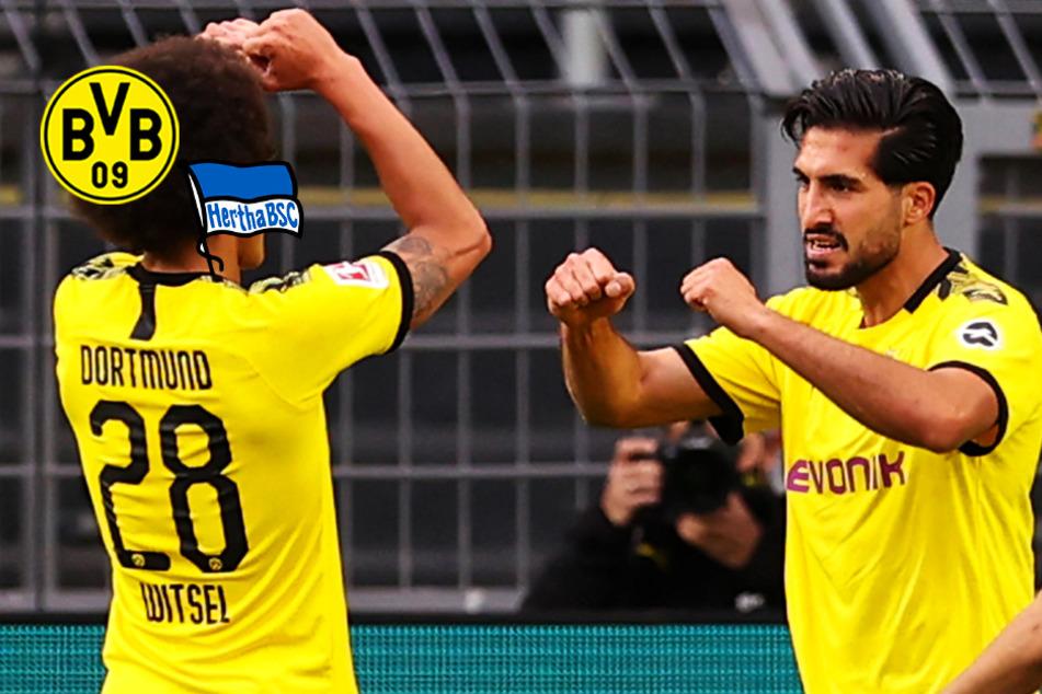 BVB knackt Hertha BSC in hart umkämpftem Duell dank Emre Can!