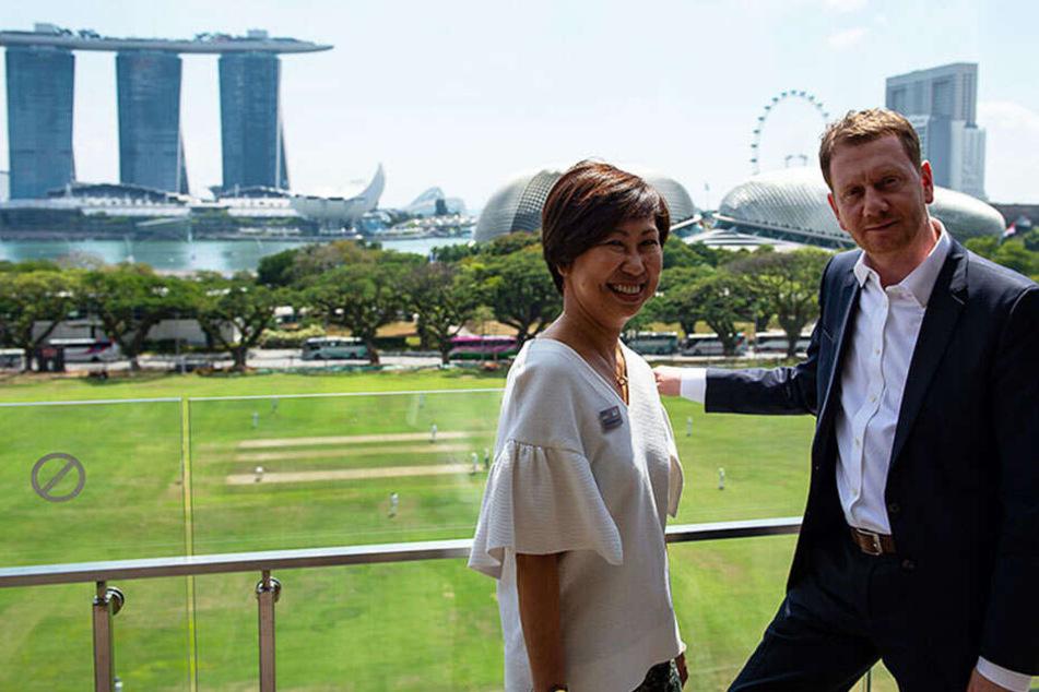 MP auf großer Reise: Das will Michael Kretschmer von Singapur lernen
