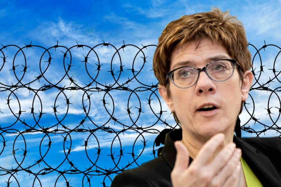 Neuer Wind in der CDU-Flüchtlingspolitik ohne Annegret Kramp-Karrenbauer? (Bildcollage)