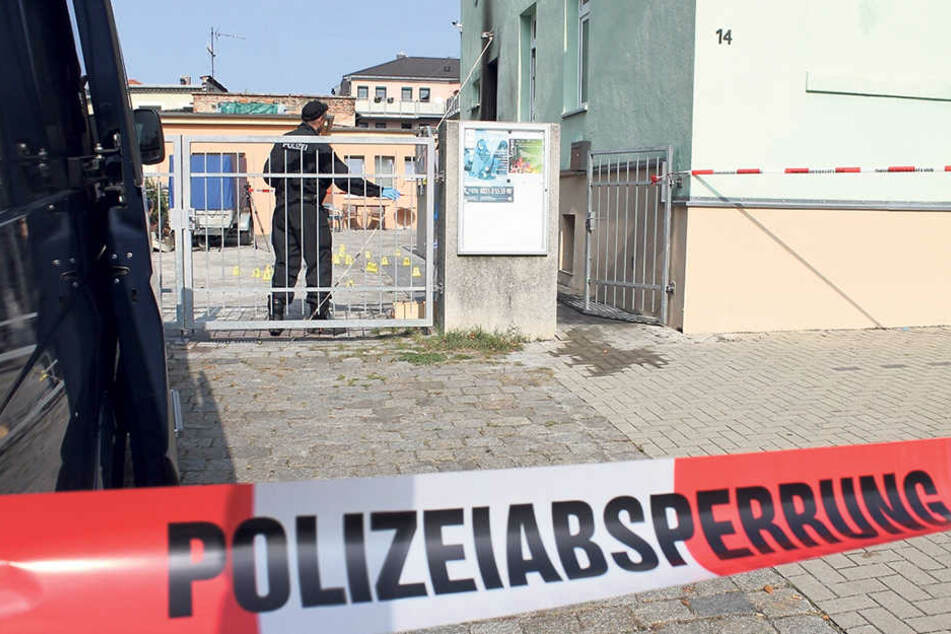Der Anschlag auf die Moschee in Dresden Ende September wurde noch nicht aufgeklärt.