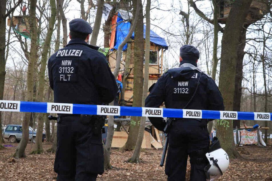 Die Aktivistin war bei der Räumung des Hambacher Forsts im September 2018 festgenommen worden (Symbolbild).