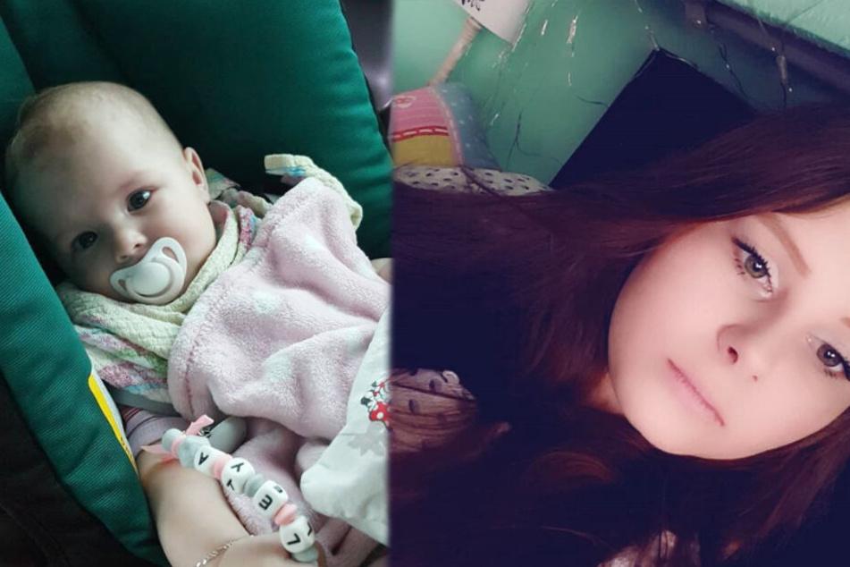 Im vergangenen Dezember ist die vorbestrafte Calantha Wollny (18) Mutter geworden.