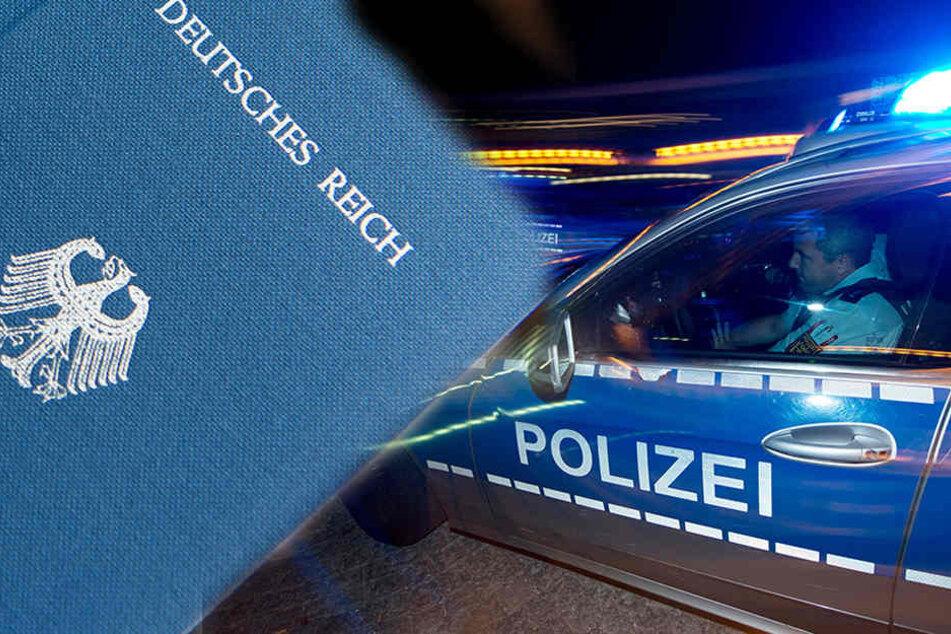 """Der """"Reichsbürger"""" fing völlig besoffen an, die Polizisten während der Kontrolle zu filmen."""