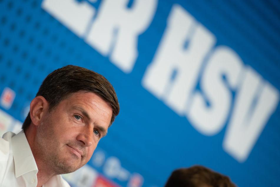 HSV-Sportvorstand Ralf Becker sieht ohne Heimsiege keine Chancen auf den Aufstieg. (Archivbild).
