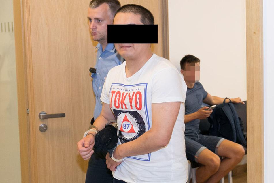 Kamalludin M. (20) musste sich wegen sexueller Nötigung und anderer  Straftaten vor Gericht verantworten.