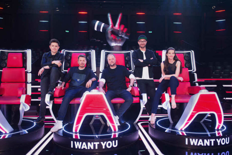"Die Coaches der aktuellen Staffel von ""The Voice of Germany"""